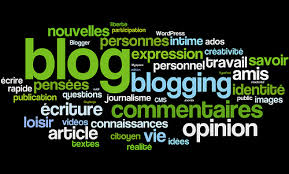 Blogging tagxedo image